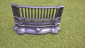 Victorian and Edwardian cast iron fireplace front bars