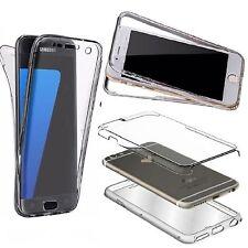 iPhone 6 Plus / 360° HANDY HÜLLE RUNDUM SCHUTZ Cover Tasche Silikon Case Hülle