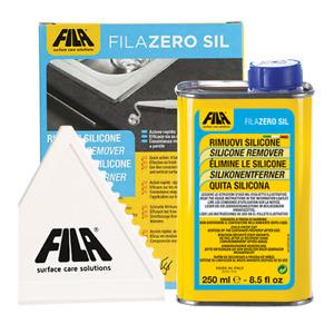 Fila Filazero Silicone Candle Wax Oil Stain Resin Residue Remover Zerosil 250ml