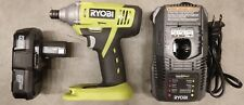 Ryobi P1870 18V ONE+ Lithium-ion Impact Driver Kit w/ Battery and Charger !!!!!