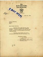 1924 LETTERHEAD Cleveland Ohio J. T. BERGERON The Delta Theta Phi Law Fraternity