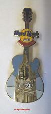 Hard Rock Cafe MANCHESTER Town Hall Guitar Series Pin .