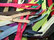 """(25) 8"""" to 18"""" Invisible Zippers~ Assorted Colors ~ YKK"""