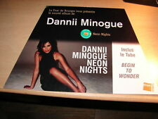 DANNII MINOGUE - NEON NIGHTS!!!!RARE FRENCH CARDBOARD DISPLAY!!!