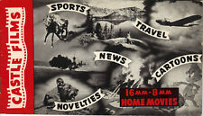 CASTLE FILMS 8MM 16MM HOME MOVIES SMALL CATALOG 1940/1941 - COMPLETE - 32 pages