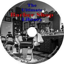 20 Books on CD, Ultimate Barber Shop Library, Barber Hair Hairdressing