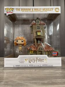 The Burrow And Molly Weasley NYCC Funko Pop 16 exclusive nycc sticker