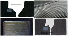 Kenworth T660 -2PC Black- Custom Fit Carpet Floor Mats 2008 & Up