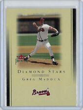 2002 Fleer Premium Diamond Stars #20 Greg Maddux Atlanta Braves