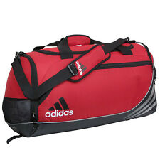 Adidas Strength Duffel Small Red Sport Gym Bag Q10061 NEW!