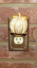 Pier 1 Imports Accent Electric Fragrance Diffuser L2 Fall Autumn Pumpkin