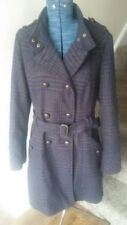 Knee Length Wool Button-Down Coats & Jackets for Women