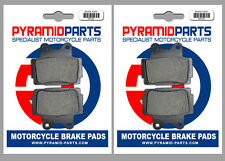 Yamaha SDR 200 88-89 Front & Rear Brake Pads Full Set (2 Pairs)