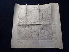 Landkarte Meßtischblatt 3649 Spreenhagen, Hangelsberg, Markgrafpieske, von 1933