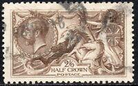 1926 Sg 413a N65/1 2s6d Olive-Brown Series II Bradley Wilkinson Very Fine Used