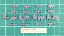Warhammer 40K Deathwatch Kill Team Sergeant Weapon 1 Arm 4 Weapons x 4 Y2 E
