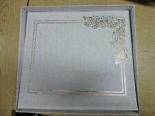 LARGE WEDDING ALBUM, WHITE WITH BOX,  #K22