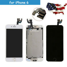 for iPhone 6 LCD Digitizer Screen Touch Complete Replacement Button 4 Connectors