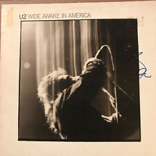 """U2  """"WIDE AWAKE IN AMERICA"""" Signed by Bono and Authenticated w/ COA"""