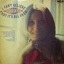 Skeeter Davis(Vinyl LP)I Can't Believe That It's All Over-RCA-APL1 0322-VG/VG