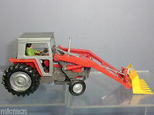 VINTAGE BRITAINS No.9522  MASSEY FERGUSON  TRACTOR WITH FRONT LOADER  MIB