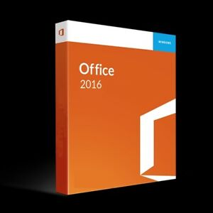 Microsoft Office 2016 Full Version (Includes Disc)
