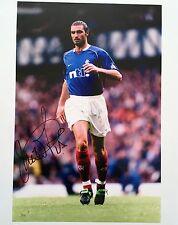 Lorenzo Amoruso firmato 10x8 Rangers foto immagine un UACC AFTAL Commerciante registrato