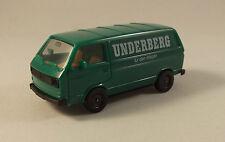 VW Bus publicitaire vert - Herpa - HO