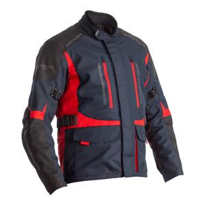 RST 2366 Atlas Ce Textile Veste Moto - Bleu / Noir/Rouge