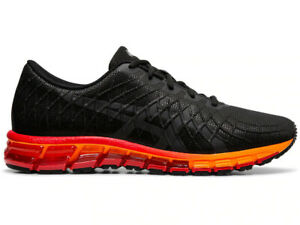 NIB Asics GEL-Quantum 180 4 Black Classic Red Men 8.5 Running Shoes 1021A104-005