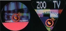 U2 ZOO TV OUTSIDE BROADCAST TOUR 1992  ( 2x ORIGINAL TOUR PASS ) UNBENUTZT !