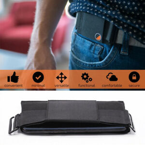 Minimalist Invisible Belt Wallet Waist Bag Mini Pouch for ID Card Holder Purse