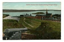 George's Island & Harbour from Citadel HALIFAX NS Canada 1912 E.P. Charlton