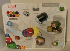 Marvel Tsum Tsum Spider-Man vs The Sinister Six 9 Figures Pack Series 2 New 6+
