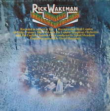RICK WAKEMAN - Journey To The Centre Of The Earth (LP) (G++/VG-)