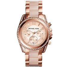 Michael Kors Women's Mini Blair Rose Gold-Tone Watch MK6175