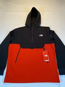 North Face Men's TKNO Ridge Pullover Hoodie, Running, Large, Fiery Red, New, NWT