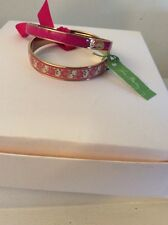 VERA BRADLEY **LIlli Bell ** 2 PC BANGLE BRACELET SET NWT $48