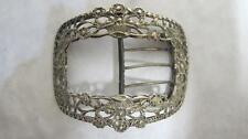 1800-1849 Antique Solid Silver Buckles