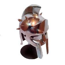 Mini Gladiator Maximus Helmet and Stand - Best Medieval / Viking Display Item