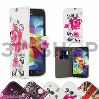 WALLET PU LEATHER CASE COVER For Samsung Galaxy Fame S6810 FREE SCREEN PROTECTOR