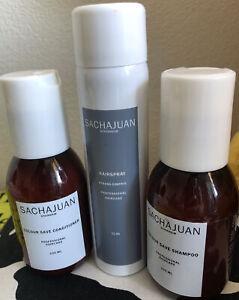 Sachajuan Travel Size Colour Save Shampoo & Conditioner Hairspray Bundle hair