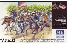 MasterBox MB3550 1/35 U.S. Civil War 8th Pennsylvania Cavalry Chancellorsville