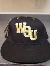 VTG Rare Wichita State Shockers Hat Cap Fitted 7 3/8 NCAA NEW NWT Vintage