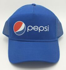 ff17f5f2bff Pepsi Cola Blue Hat - Soda Promo Cap - One Size - Trucker baseball
