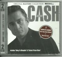 JOHNNY CASH - RIDE THIS TRAIN & SINGS HANK WILLIAMS - 2 DISC MUSIC CD NEW SEALED