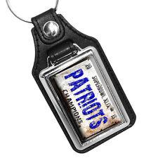Superbowl XLIX 2015 Patriots Superbowl Champions Faux Leather Key Ring