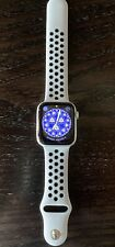 Apple Watch Series 4 Nike+GPS 44 mm Silver Aluminum Case with Sport Band