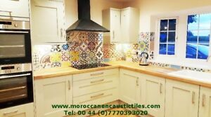 Moroccan tiles for walls , floors and gardens.