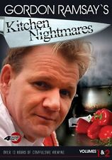 Gordon Ramsay Kitchen Nightmare V 1&2 0773848644933 DVD Region 1